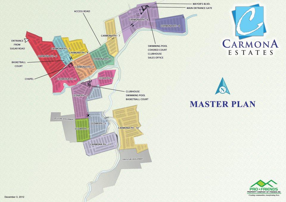 Carmona Estates Masterplan