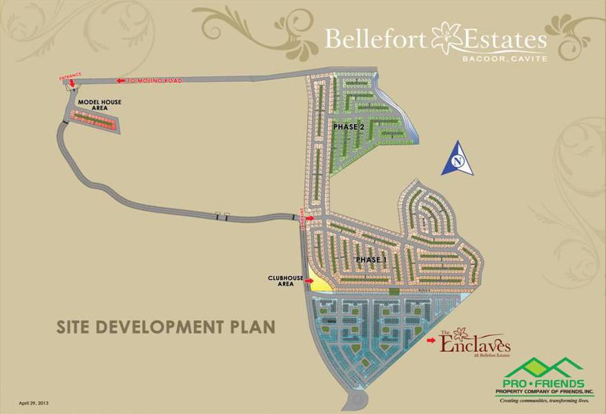 Bellefort Estates Masterplan
