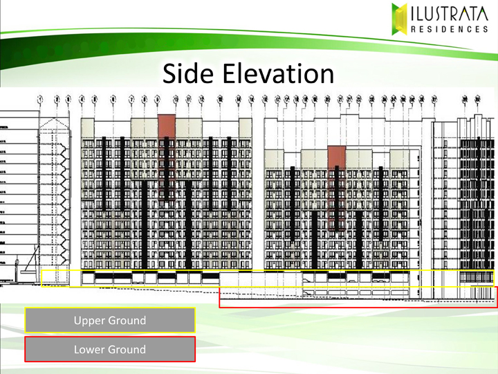 Ilustrata Residences Parking Elevation