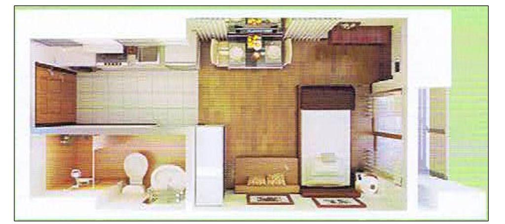 Prima Residences Studio Floor Plan