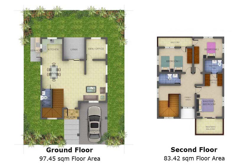 Single-detached Georgina Floor Plan