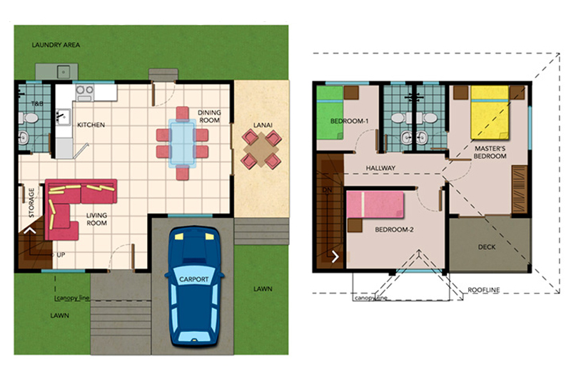 Single-attached Karylle Floor Plan