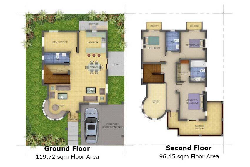 Single-detached Victoria Floor Plan